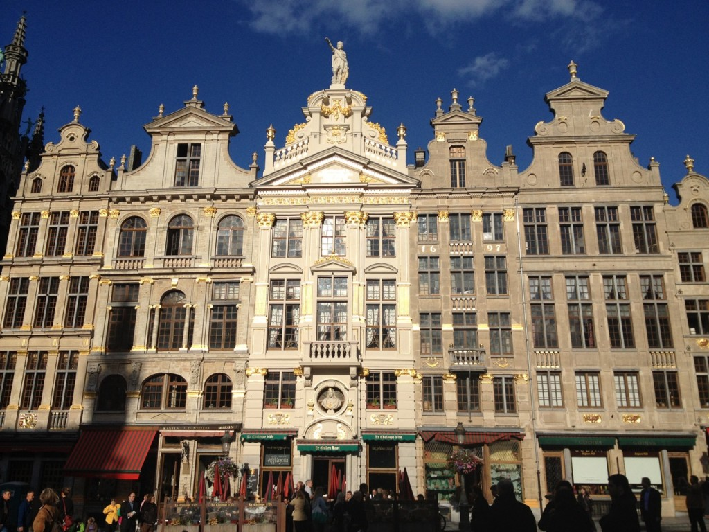 Guild houses on the Grote Markt
