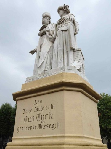 Statue of the Brothers Van Eyck