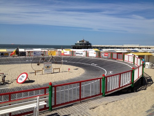 velodrome on beach