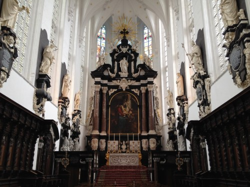 Interior of St. Paul's Church, Antwerp