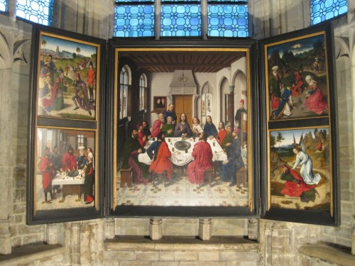 Last Supper by Dieric Bouts