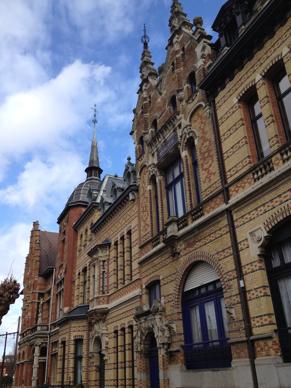 Flemish Renaissance-style brickwork