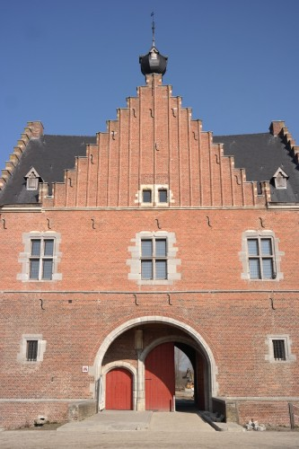 The monumental gatehouse